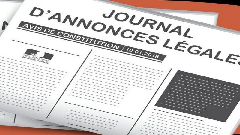 L'obligation de publication d'annonce légale pour les entreprises